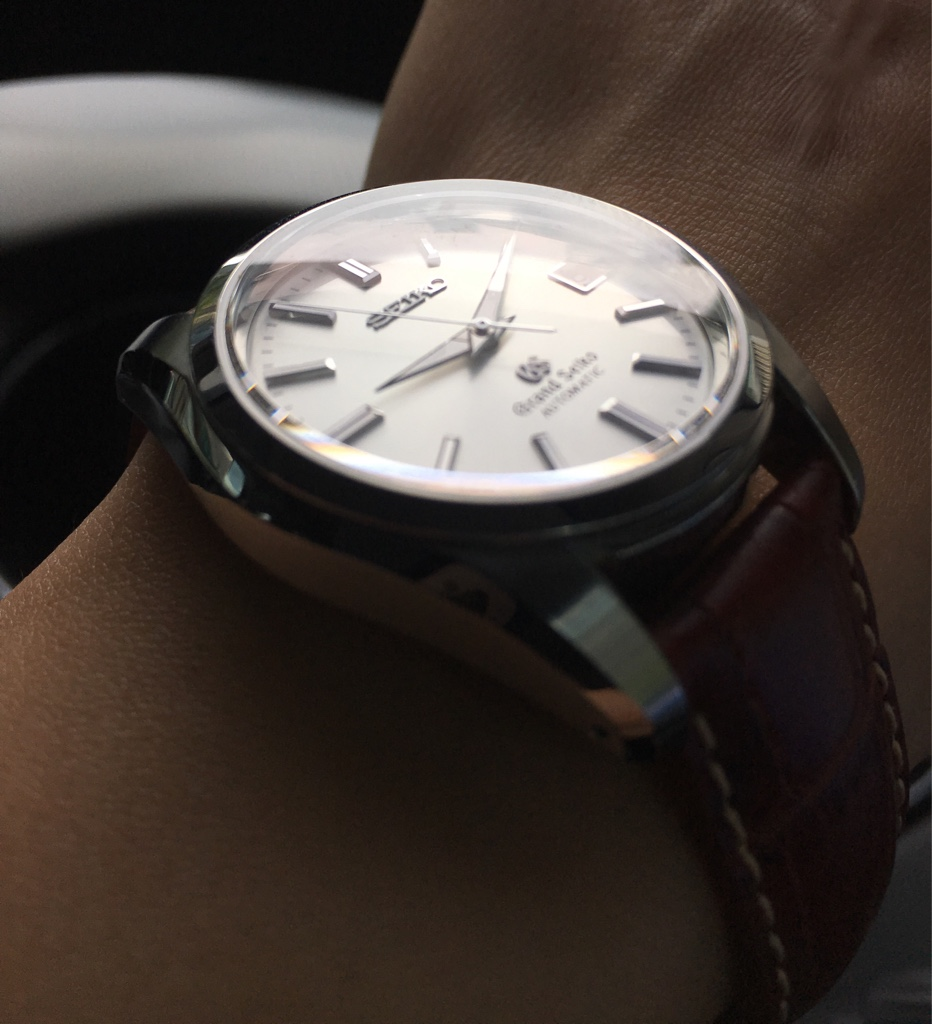 newest 27423 2ecfd Review: Grand Seiko SBGR001 9S55-0010 - Leather Care Singapore